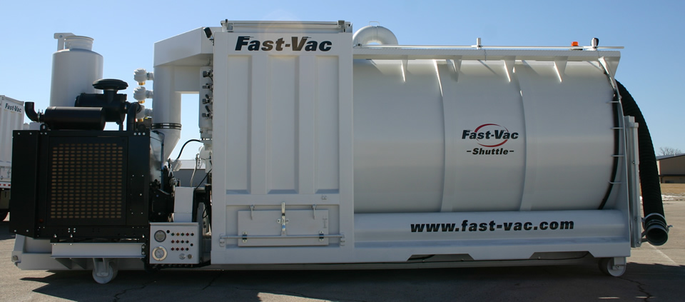 Fast-Vac Industrial Vacuum Loader Shuttle