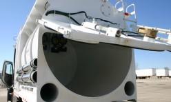 industrial vacuum loader tailgate